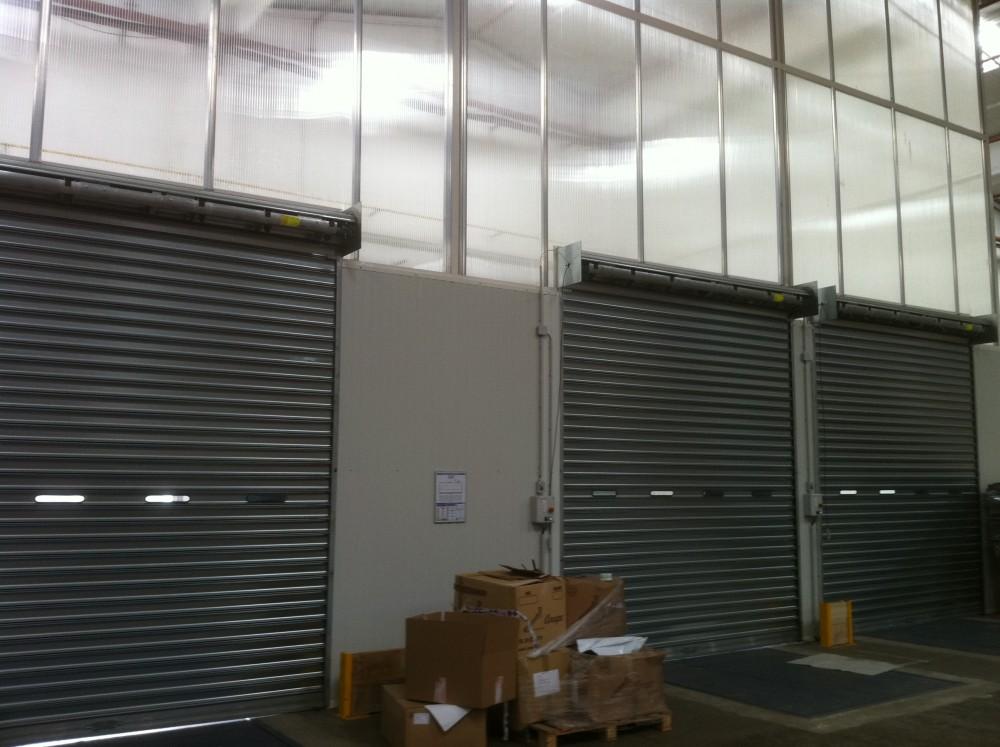 Portes industrielles sofemi - Porte sectionnelle industrielle occasion ...
